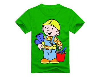 Bob the Builder T-Shirt for children - available in many sizes and colors