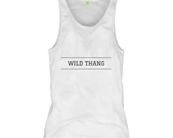 Wild Thang - Women's Form Fitting Yoga Tank