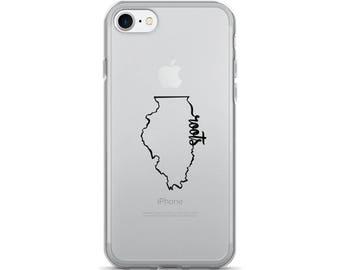Illinois Roots - iPhone Case (iPhone 7/7 Plus, iPhone 8/8 Plus, iPhone X)