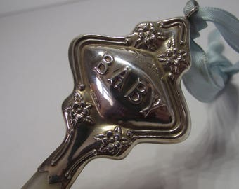 Silver Baby Rattle Etsy