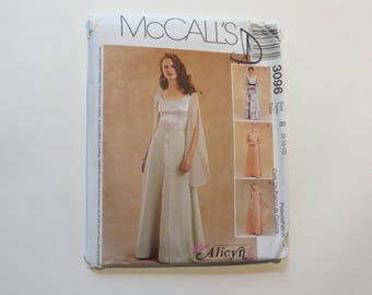 McCall's Alicyn Exclusives Pattern #3096: Size B (8-10-12)