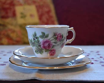 Royal Vale Bone China Tea Set - Rose Buds