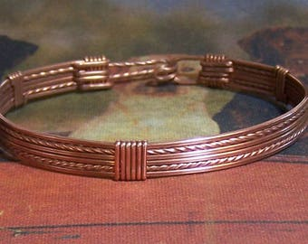 Simple Copper Bracelet