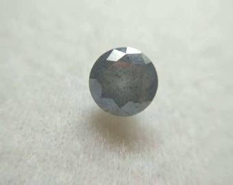 Grey Round Diamond 1.96 ct.