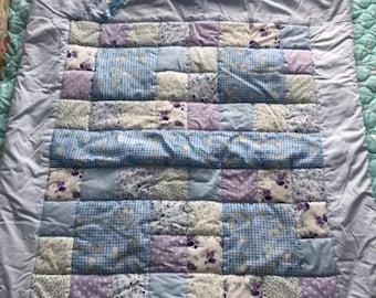 Bespoke Handmade Baby Patchwork Quilt