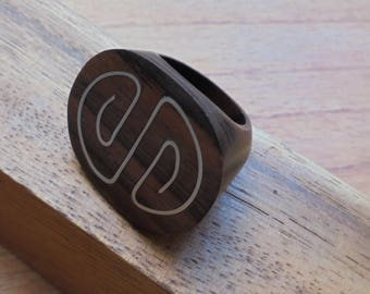 Wooden Ring Handmade, Wood Jewelry R12