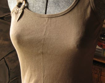 Chocolate Brown Ring Tank