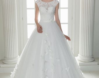 Wedding dress wedding dress bridal gown STEPHANIE