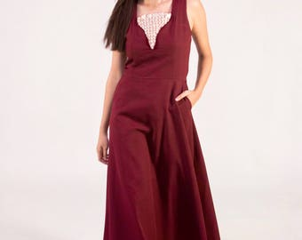 Dignified. Floor length dress