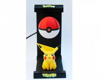 Lámpara Led PIKACHU POKEMON Led Lamp