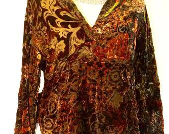 Deep Red Vintage Pullover