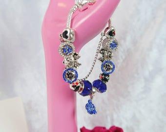 PRE-ORDER 5 WKS 25th Anniversary Charm Bead Bracelet