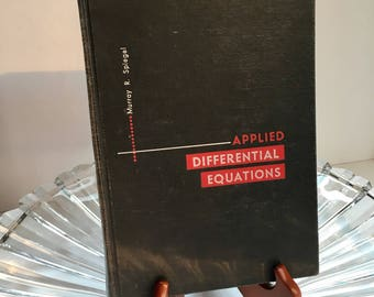 First Edition Applied Differetial Equation By Murray R. Spiegel Copyright 1958