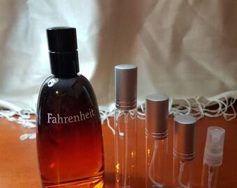 DIOR-FARENHEIT EDT eau de toilette perfume sample travel size spray
