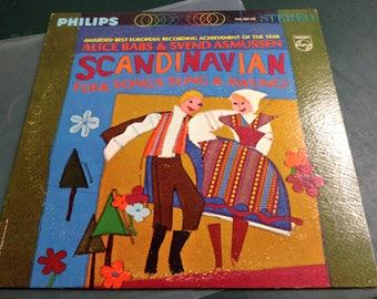 "Alice Babs & Svend Asmussen ""Scandanavian Folk Songs Sung and Swung"" Vinyl LP"