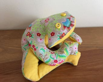 Frog fabric Lavender scented