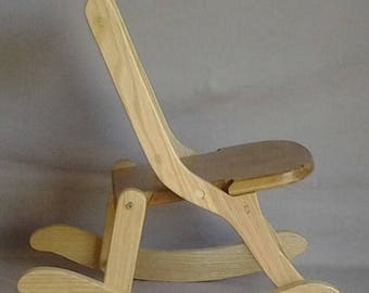 Childrens' Foldable Rocking Chair