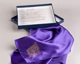 """Silk wrap """"Persian"""""""