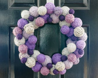Front door decor , front door wreath
