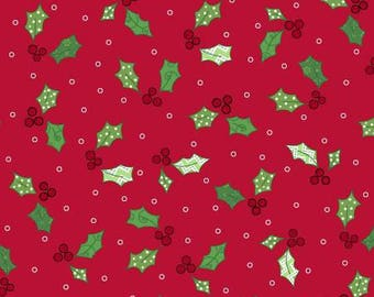 Red Holly & Berries, Jingle All The Way by Kim Christopherson Collection