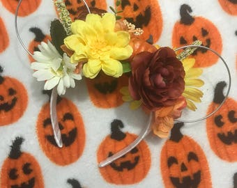 Halloween custom minnie ears