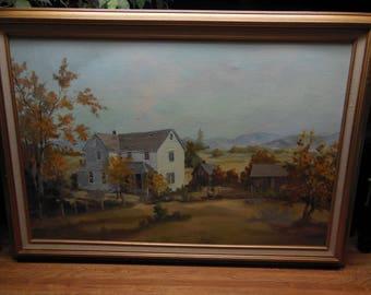 California Plein Air Oil Painting American Artist Impressionist Eubanks