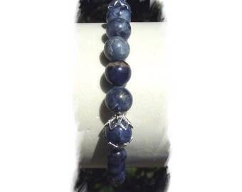 SODALITE and Silver 925 bracelet