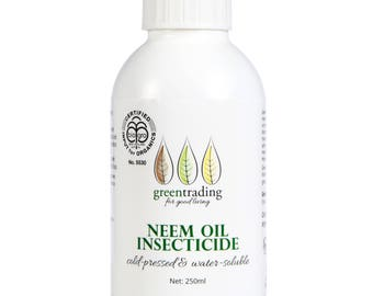 Organic Certified Neem Oil Insecticide 250 Ml