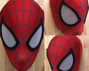 The Amazing Spider-Man 2 Face Shell (No Lenses) TASM 2 Face Shell Spiderman Mask Spiderman Universal Face Shell Custom Sizing Requests