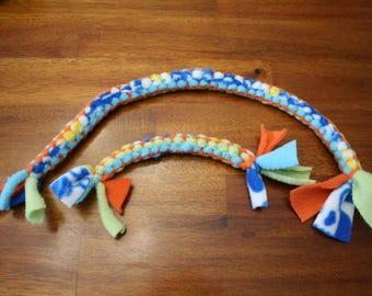 Fleece Dog Tug Toy / Dog Toys / Dog Sport Toys