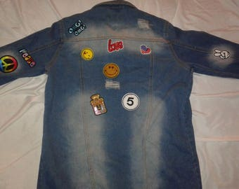 women's Jean jacket sz small