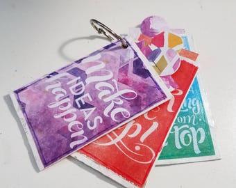 Make Ideas Happen mini journal