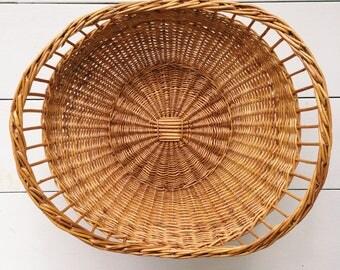 Wicker Woven Fruit Basket