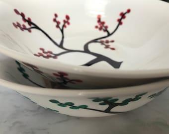 Cherry Blossom Tree Bowls