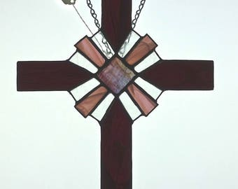 Cross Stained Glass