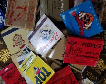 Vintage matchbooks and boxes 100+ hotels, casinos, bars, restaurants, businesses, travel