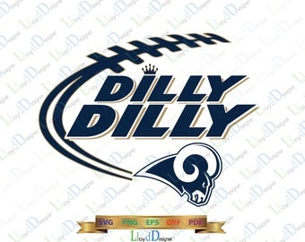 Dilly Dilly Los Angeles Rams SVG Dilly Dilly Football team svg Shirt dilly dilly Rams logo svg eps dxf png svg cut files cameo cricut