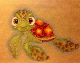 A4 Squirt Drawing