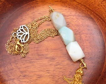 Amazonite Decorative Necklace