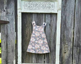 Reversible toddler dress
