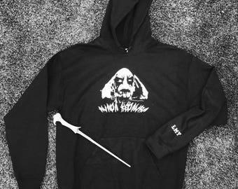 Black Metal Voldemort hoodie