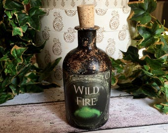 Game of Thrones. Game of Thrones Gift. Wild Fire Bottle. Game Of Thrones Decor. Game of Thrones Prop. Potion Bottle. Steampunk Bottle.