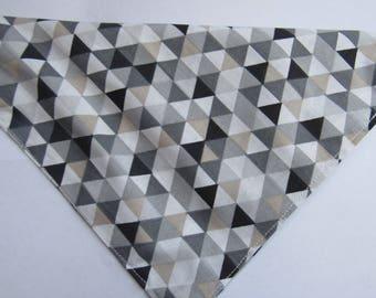 Geometric triangles | Dog bandana