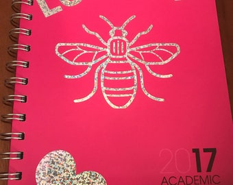 2017/18 Personalised Academic Diary any wording