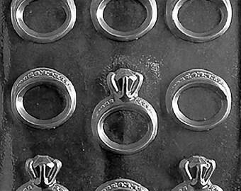 Engagement/Wedding Ring Chocolate Mold