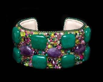 """Bracelet """"Lavender Garden"""""""