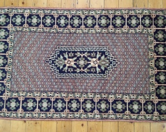 Hand Knotted Rug from Jaipur,