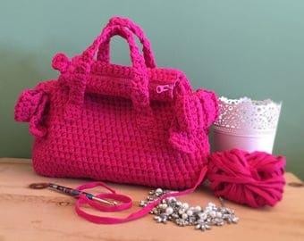 Handbag Bow Bag flaked