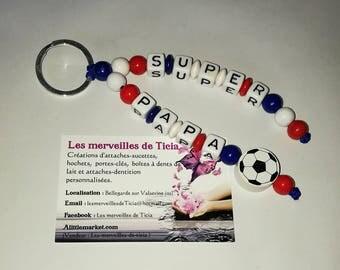 "Custom keychain ""France"""