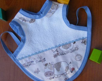 "Bib apron ""Farm animals"""